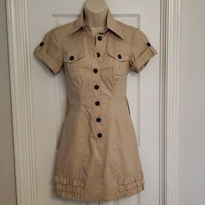 Bebe Safari Dress Size 0